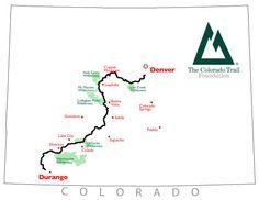 Bikepacking the Colorado Trail: Denver to Durango.