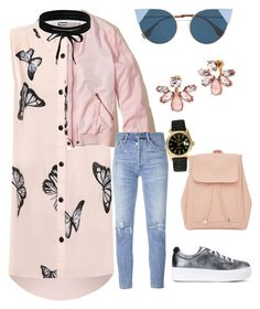"""""""Untitled #631"""" by gerdux16 on Polyvore featuring WearAll, Hollister Co., Fendi, Kenzo, Citizens of Humanity, New Look, Marchesa, Boohoo and Rolex"""