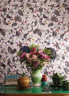 Bird Song wallpaper from Osborne and Little