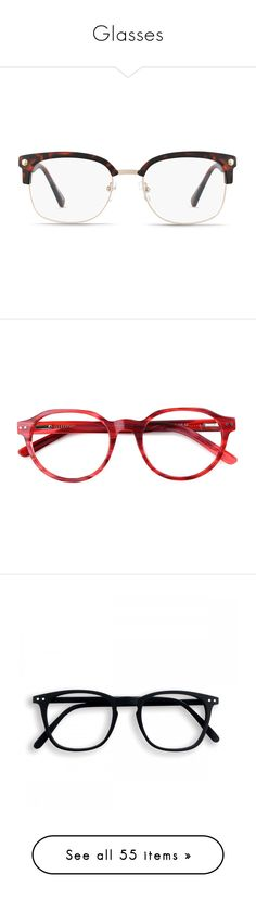 """""""Glasses"""" by squishycake ❤ liked on Polyvore featuring accessories, eyewear, eyeglasses, glasses, tortoise eye glasses, sport glasses, sports eyewear, sports eyeglasses, tortoise shell eyewear and retro style glasses"""