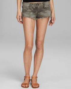True Religion Shorts - Bobby Camo in Derringer | Bloomingdale's