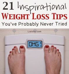 Lots of easy weight loss tips for women! It's really all about motivation and how to stay on track. Weight loss is a mental challenge more than a physical one.