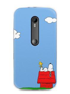 Capa Moto G3 Snoopy #3 - SmartCases - Acessórios para celulares e tablets :)
