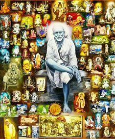 Sai Baba ॐ.....z❤️NSpiceC🌶🦋Sept2018~*💕 Sai Baba Wallpapers, Lord Vishnu Wallpapers, Sai Baba Pictures, God Pictures, Lord Ganesha, Lord Shiva, Shri Hanuman, Krishna, Sai Baba Quotes