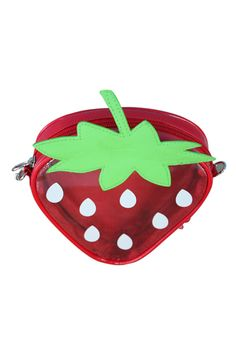 イチゴの形透明なバッグ