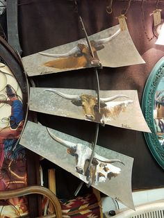 Vintage Hand Painted Windmill Blade