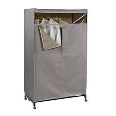 Grey Clothes Closet