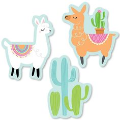 Shop Whole Llama Fun - DIY Shaped Llama Fiesta Baby Shower or Birthday Party Cut-Outs - 24 Count - up to off, discover more Children's Baby Shower Party Supplies enjoy big discount and fast shipping. 21st Birthday Cards, Girls Birthday Party Themes, Fun Party Themes, Baby Shower Crafts, Baby Shower Party Supplies, Baby Shower Fun, Cool Diy, Fun Diy, Do It Yourself Baby