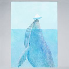 Lift Poster by Whale, Art Prints, Canvas, Artwork, Artist, Fan, Poster, Animals, Art Impressions