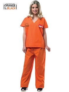 Adult Orange is the New Black Piper Costume from #RickysHalloween http://rickyshalloween.com/products/adult-orange-is-the-new-black-piper-costume