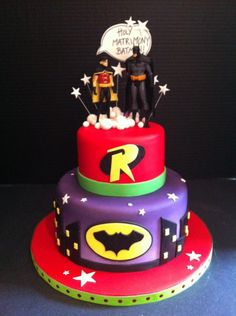 pictures of Batman and Robin cakes | Share