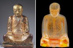 CT Scans Reveal Preserved Body Inside Ancient Buddhist Statue | IFLScience