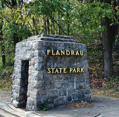 October 2013 at Flandrau State Park, New Ulm.