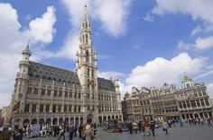 La Grand-Place, Brussels---La Grand-Place, Brussels La Grand-Place in Brussels is a remarkably homogeneous body of public and private buildings, dating mainly from the late 17th century. The architecture provides a vivid illustration of the level of social and cultural life of the period in this important political and commercial centre.