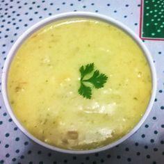 Aprenda a preparar a receita de Creme de aipim com frango e queijo