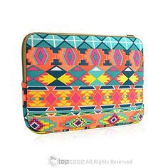 """TopCase Bohemian Style Canvas Fabric Laptop Sleeve Bag Case Cover for All 11"""" 11-inch Laptop Notebook / Macbook Air / Ultrabook / Chromebook TOP CASE http://www.amazon.com/dp/B00WOM6DXK/ref=cm_sw_r_pi_dp_-oQDvb1AYGS9H"""
