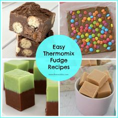 To help, we've put together a collection of some of our favourite easy Thermomix Fudge Recipes that we're are super confident you are going to love - enjoy! Best Fudge Recipe, Cheddarwurst Recipe, Fudge Recipes, Candy Recipes, Sweet Recipes, Easy Chocolate Fudge, Chocolate Recipes, Peppermint Crisp, Mulberry Recipes