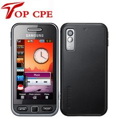 Unlocked Original SAMSUNG S5230 S5230c Mobile Phone Refurbished 3.0'' Touchscreen Bluetooth S5230 2MP Cellphone Drop shipping