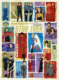 Star Trek Puzzle 1000 Piece Collage TV Show Classic Episodes Cobble Hill Jigsaw