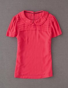 I've spotted this @BodenClothing Peter Pan Top Camellia