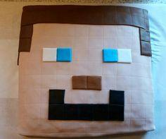 Minecraft Steve kage til Jeppes 10 års fødselsdag.