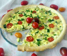 Di gotuje: Tarta z cukinią i pomidorkami