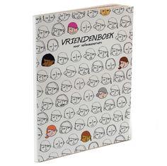 """Voor volwassenen - Kun je je nog de vriendenboeken van vroeger herinneren? Misschien heb je ze nog wel ergens liggen? Is het niet leuk om er in terug te kijken. Zien welke mensen er toen in je leven waren, een mooi tijdsbeeld.  """"Nou, als volwassene, vind ik ze nog steeds leuk, maar de ontwerpen in de winkels zijn vaak te schattig en de vragen saai. Dus ik heb een vriendenboek ontworpen voor volwassenen!"""" - Ankepanke  Het ontwerp is simpel, vormgegeven als een soort van strip en de vragen ..."""