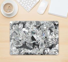 "The Scattered Diamonds Skin Kit for the 12"" Apple MacBook"