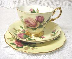 Vintage Royal Albert Tea Trio English Beauty by TheWhistlingMan