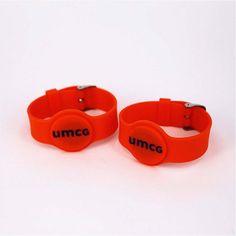 HF Silicone RFID Wristband Watch Ultralight