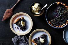 Blueberry Lemon Crème Fraîche Pie with Poppy Seed Streusel recipe on Food52
