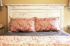 Headboard Made From Reclaimed Barn Wood By OldWoodNewCharm On Etsy, $350.00    Furniture   Pinterest