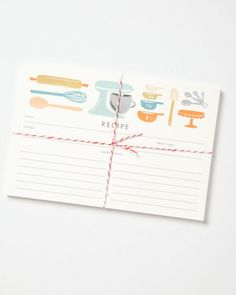 Remember all of your favorite recipes with these Rifle Paper Co. cards! Get them here: http://www.bhg.com/shop/rifle-paper-co-made-to-measure-recipe-cards-p514b09d0e4b02329170fb029.html