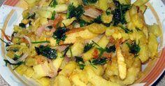 Αγαπημένος μεζές μικρών και μεγάλων, διαχρονικά, η τηγανητή πατάτα δεν θα μπορούσε να λείπει από την ποντιακή κουζίνα. Οι λάτρεις των πικάντικων γεύσεων αναζητήστε την ατζίκα σε μαγαζιά με ποντιακά... Greek Recipes, Street Food, Potato Salad, Macaroni And Cheese, Side Dishes, Food And Drink, Meat, Chicken, Ethnic Recipes