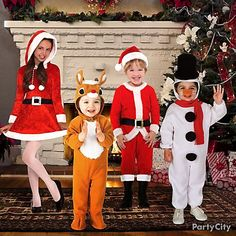Top 5 Ideas for Kids Christmas Costumes