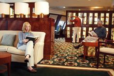 The Largest Library At Sea Queen Mary 2 2016 Remastering