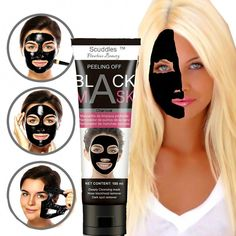 Purifying-Black-Peel-off-Mask-Facial-Cleansing-Blackhead-Remover-Charcoal-Mask #CharcoalMaskBenefits