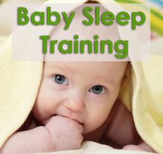 Teaching babies to sleep through the night - since I didn't so hot with the first baby.