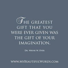 The Greatness of Your Imagination...