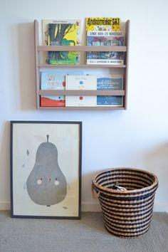 Wooden shelf for books #macarenabilbao #woodenshelf