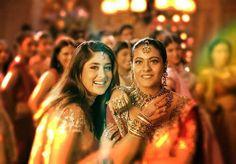 Kareena Kapoor Khan and Kajol Devgan Mukherjee in the movie Kabhi Khushi Kabhi Ghum ♥