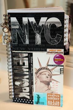 love this book that I made for Gentry's drill team trip to NEW YORK!