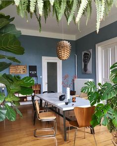 Urban Jungle Bloggers™ (@urbanjungleblog) • Instagram photos and videos Dining Room Paint Colors, Living Room Update, Dining Room Furniture, Dining Rooms, Dining Room Inspiration, Sweet Home, Room Decor, Interior Design, Instagram