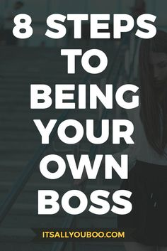 Want to leave your day job and become an entrepreneur? Click here for 8 Simple Steps to Being Your Own Boss. Plus, plan your escape from your 9 to 5 with the FREE Printable Strategic Planning Workbook. #millennialblogger #millennials #businessowner #busin