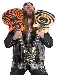 Little Man wants the orange one...says he thinks zakk wylde might send him one...lol