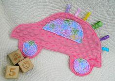 Flower Power Pink Lovebug Snugglie by sewingirl on Etsy, $22.00