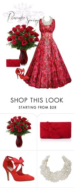 """""""Rose"""" by shays22 ❤ liked on Polyvore featuring L.K.Bennett, Miss KG and Humble Chic"""
