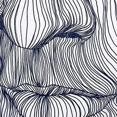 Oi, eu sou o Tiago e uma linha só não faz verão... não, pera... #inktober #inktober2016 #noisy #art #lifeart #drawing #nose #mouth #line #noisy