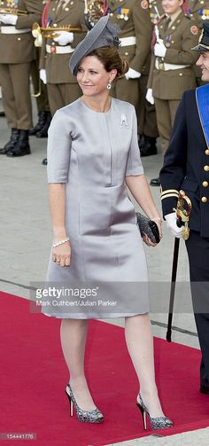 Princess Martha Louise of Norway attends the wedding ceremony of Prince Guillaume Of Luxembourg and Stephanie de Lannoy at the Cathedral of our Lady of Luxembourg on October 20, 2012 in Luxembourg, Luxembourg. The 30-year-old hereditary Grand Duke of Luxembourg is the last hereditary Prince in Europe to get married, marrying his 28-year-old Belgian Countess bride in a lavish 2-day ceremony.