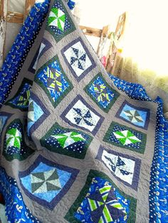 Custom Patchwork Quilts Made to Order.